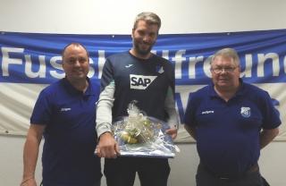 Von links: Jürgen Bauer, Carsten Lindwurm und Wolfgang Würgler