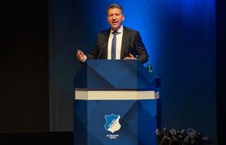 Die TSG Hoffenheim trauert um ihren verstorbenen Präsidenten Peter Hofmann