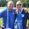 Die beiden Fanclub-Vorsitzenden: Jürgen Bauer (li.) und Karl-heinz Rüsing